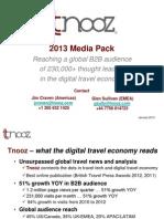 Tnooz 2013 Media Pack