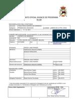 Avance Programa Raid de JIMENA de LA FRA. 2011