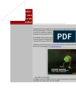 BLENDER Animacion Pierna Robot