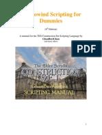 Morrowind Scripting for Dummies 8