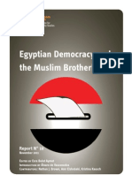 Egyptian Democracy and the Muslim Brotherhood