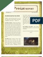 The Praise Report December 2011