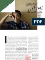 Murakami su D di 'La Repubblica'