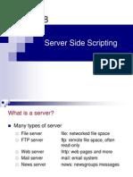 Week 2 - Web Programming - Server Side