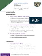 Plan Participativo de Desarrollo Dto1 Z12 2011-2014