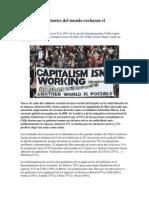 74 de Personas Rechazan El Capitalismo