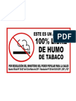100 x 100 libre de humo