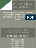 Segunda Convencion de Ginebra ( 1906 )