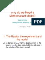 Need Math Model