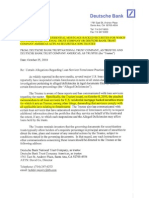 Deutsche Bank Ntc -Internal Memo