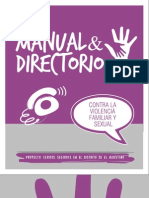 Manual y Directorio Contra La Violencia Familiar y Sexual