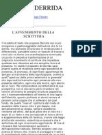 (eBook - Ita - Filosofia JACQUES DERRIDA La Parola
