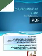 Os Fatores Geograficos Do Clima