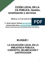 CursoGestioncoleccion Local