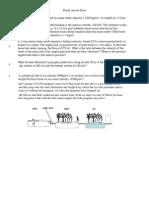 Fluids Review Sheet