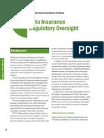 Auditor General Insurance Regulation Dec 2011
