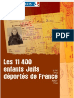 Brochure Deported Jews Paris