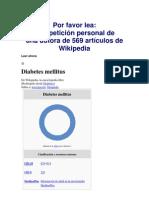 prueba a1c para síntomas de diabetes wikipedia