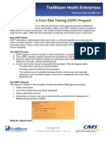 Cert Program - Medicare