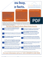 Top 10 Things You Should Know About Home Security
