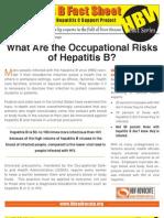 Occupational Risk of Hepatitis B