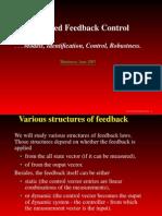 Advanced Feedback Control