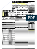 Character Sheet Automatic Version 21.0.6