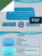 Strategic Analysis of Ryanair(Sergio Fernandez Garcia)