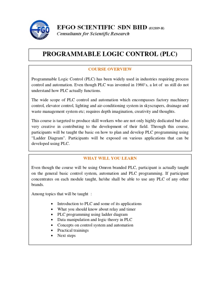 Basic Programmable Logic Control Plc Ladder Training For Dummies Controller Timer