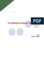 PATOGENESIS INFEKSI BAKTERI