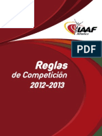 ATLETISMO - Manual Iaaf 2012 2013