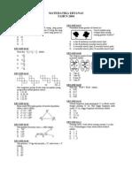 Matematika 2004