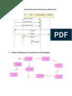 Diagramas de Secuencia o Colaboracion y Diagrama de Despliegue