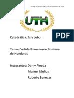 Partido Democrata Cristiano de Honduras