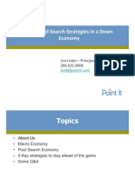 Top 5 Paid Search Strategies in a Down Economy