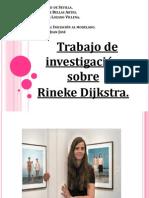 Trabajo Sobre Rineke Dijkstra.