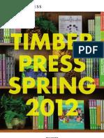 Timber Press Spring 2012 Catalog