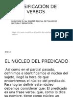 CLASIFICACIÓN DE VERBOS