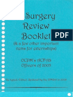 Review - ACFAS Surgical Review Book