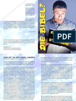 Werner Gitt - Die Bibel Ein Buch Zum Staunen - Jesus Christus Gott Glaube Religion Kirche Esoterik