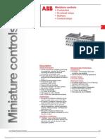 ABB; Miniature Controls, Contactors, Overload Relays, Starters, Control Relays