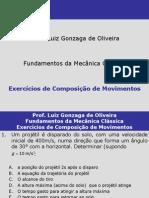 Exercícios de Composição de Movimentos