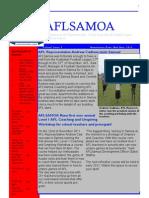 AFLS November Newsletter