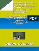 Disortografía