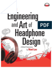 The Engineering and Art of Headphone Design