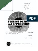 NASA SP290 Turbine Design