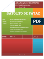 El Batolito de Pataz
