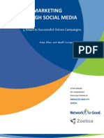 Cause Marketing Through Social Media 10