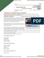 rio de La Vinotinto Rumbo a Brasil 2014 __ Radio en Vivo - YVKE Mundial