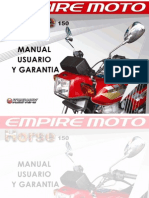 Manual de Usuario Horse 150 2010
